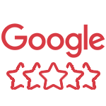 Avaliação no Google de 4,8 estrelas