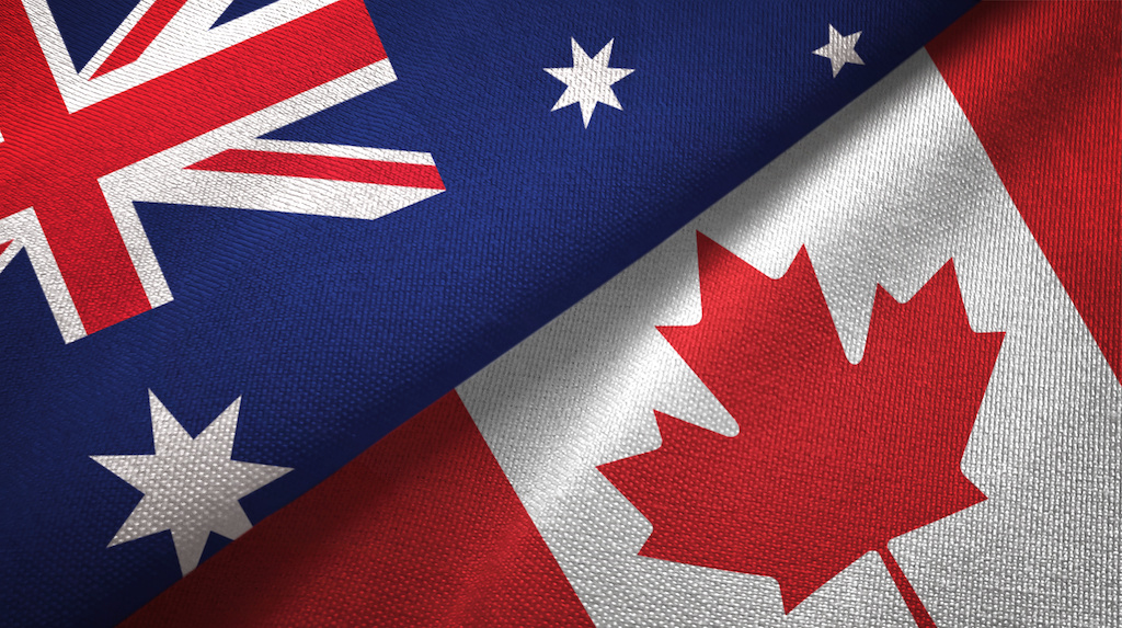 Which is a better country to live in, Canada or Australia?